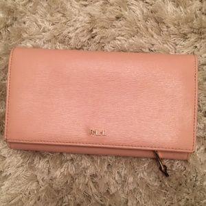 Ralph Lauren pink wallet